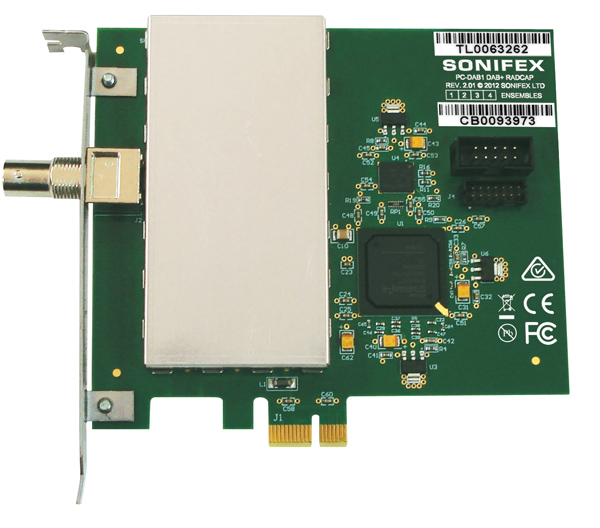 Multi Ensemble DAB+ DAB Radio Capture Card