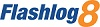 Flashlog 8 small logo
