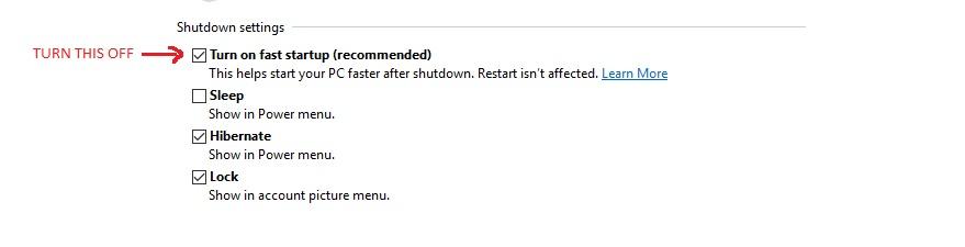 Windows10FastStartup